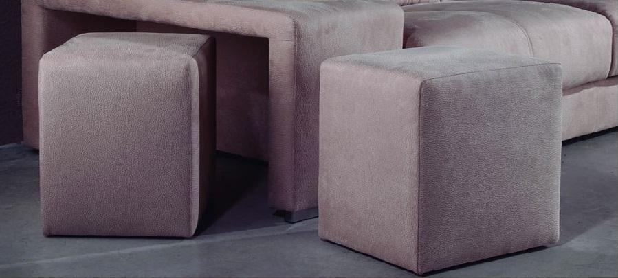 Assise fixe relax meubles canap s chezsoidesign - Canape avec pouf integre ...