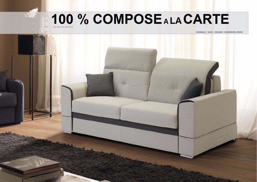 Convertible type rapido meubles canap s chezsoidesign for La halle au canape
