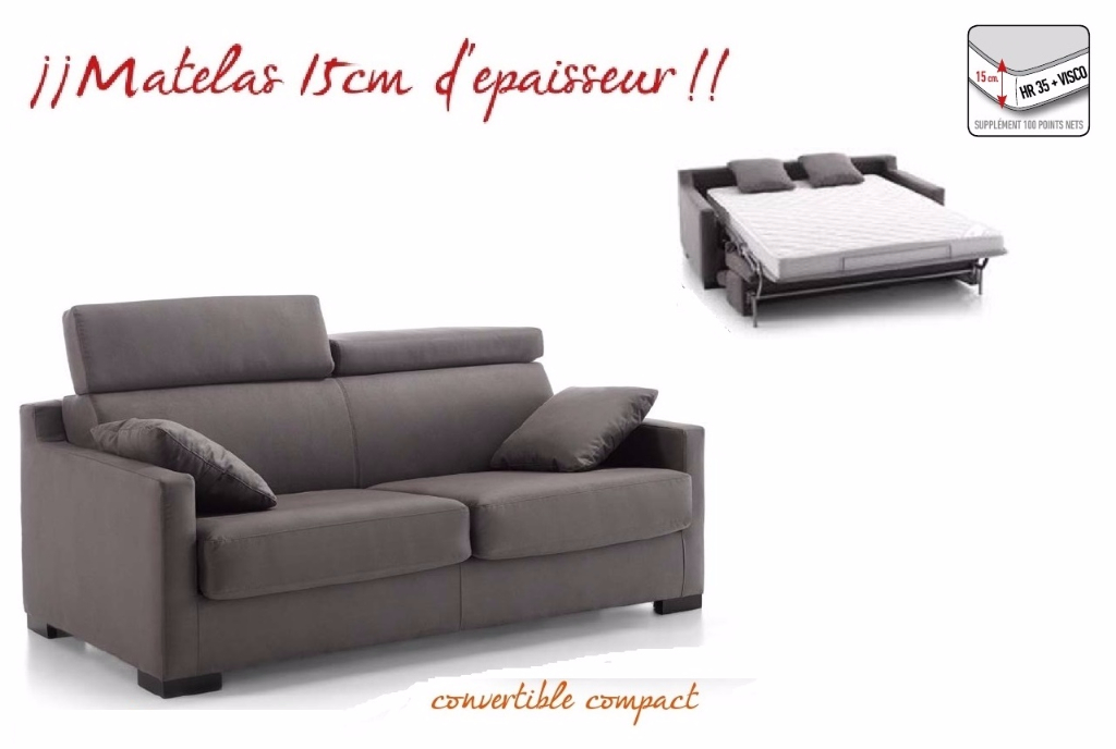 Fauteuil canap convertible meubles canap s for Canape convertible 120 cm de large