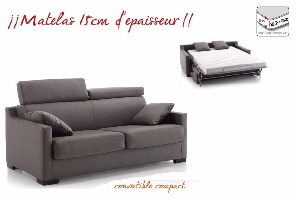 Fauteuil canap convertible meubles canap s - Canape convertible 120 cm de large ...