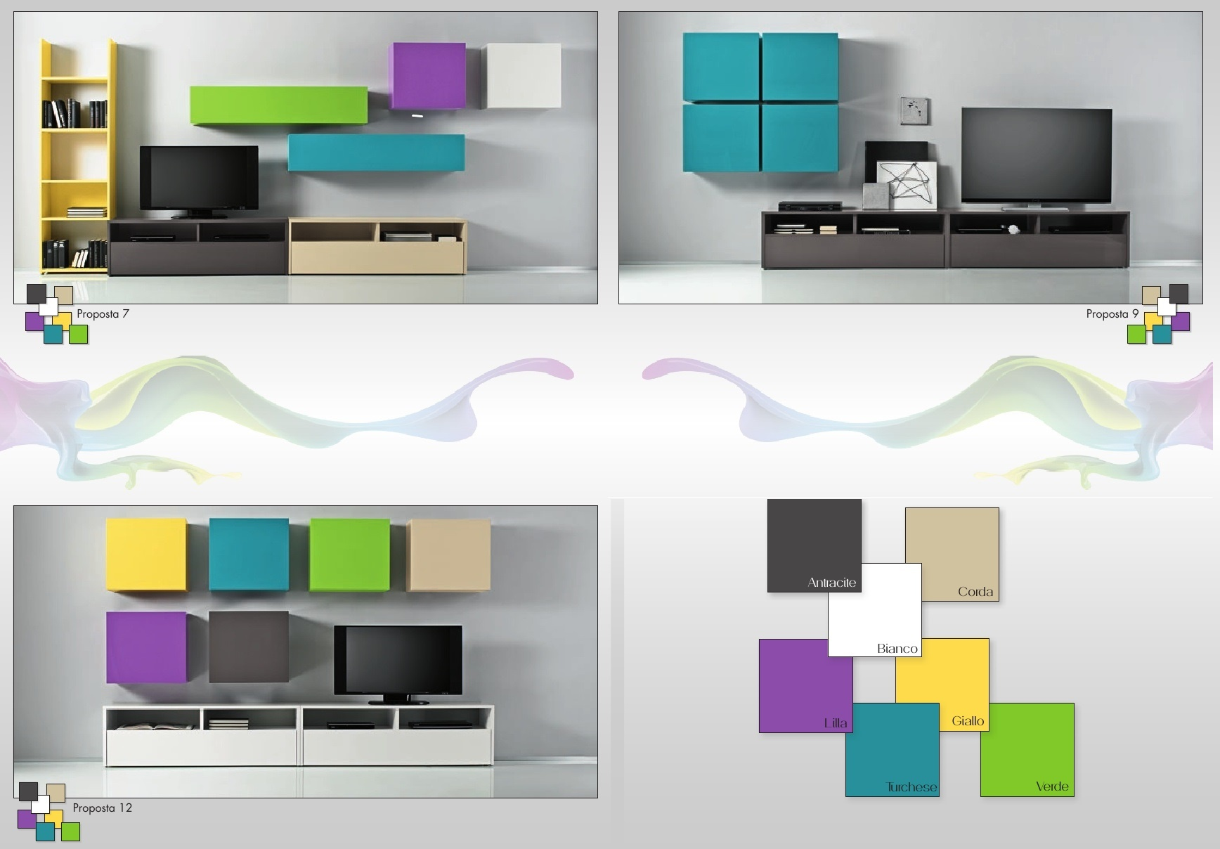 collections COULEURS