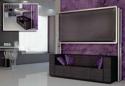 armoire lit escamotable meubles canap s chezsoidesign st cyr sur mer. Black Bedroom Furniture Sets. Home Design Ideas