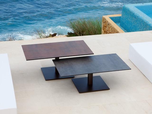 Table ceramique meubles canap s chezsoidesign st - Table basse hauteur 55 cm ...
